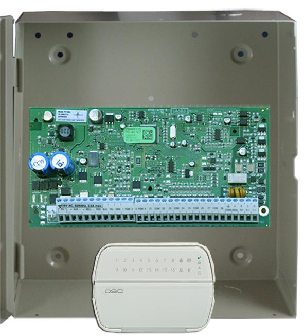 8 Zone Control Panel Expandable To 64 Zones Elvey