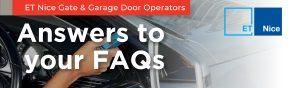 ET NICE Gate and Garage Door Operators