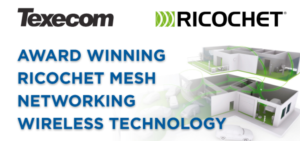 Texecom RICOCHET Mesh Networking Wireless Technology