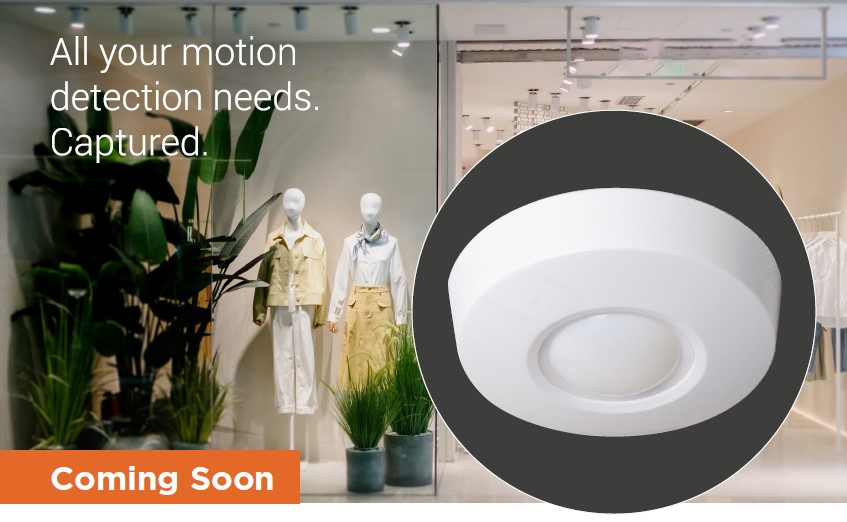 Texecom Capture Wired and Wireless Ceiling Mount Options