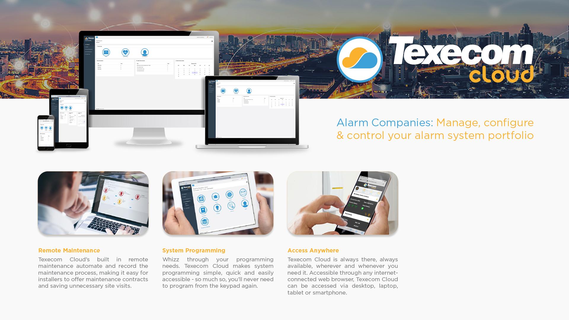 Texecom Cloud Series